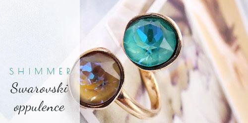 Δαχτυλίδια με κρύσταλλα Swarovski χονδρική πώληση